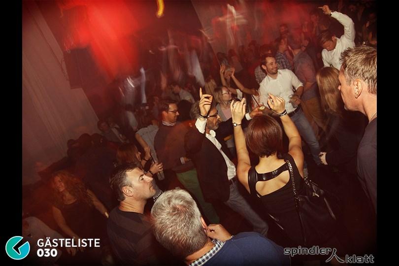 https://www.gaesteliste030.de/Partyfoto #29 Spindler & Klatt Berlin vom 10.10.2014