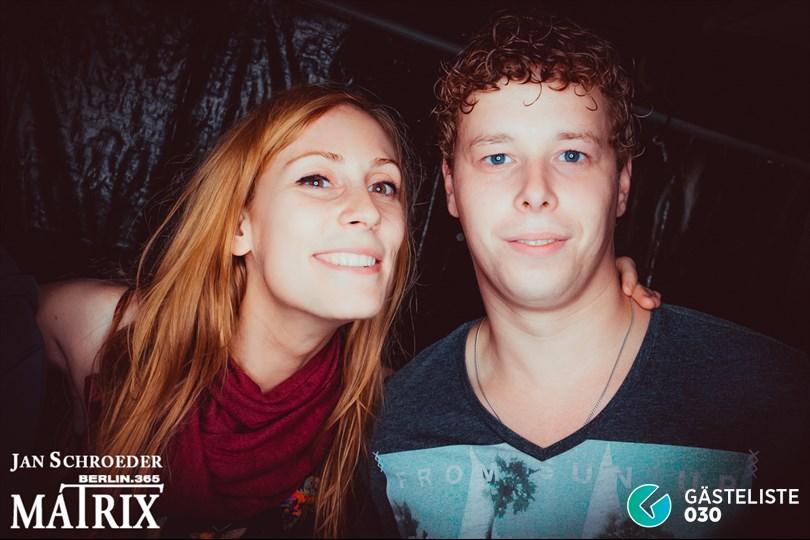 https://www.gaesteliste030.de/Partyfoto #121 Matrix Berlin vom 09.10.2014