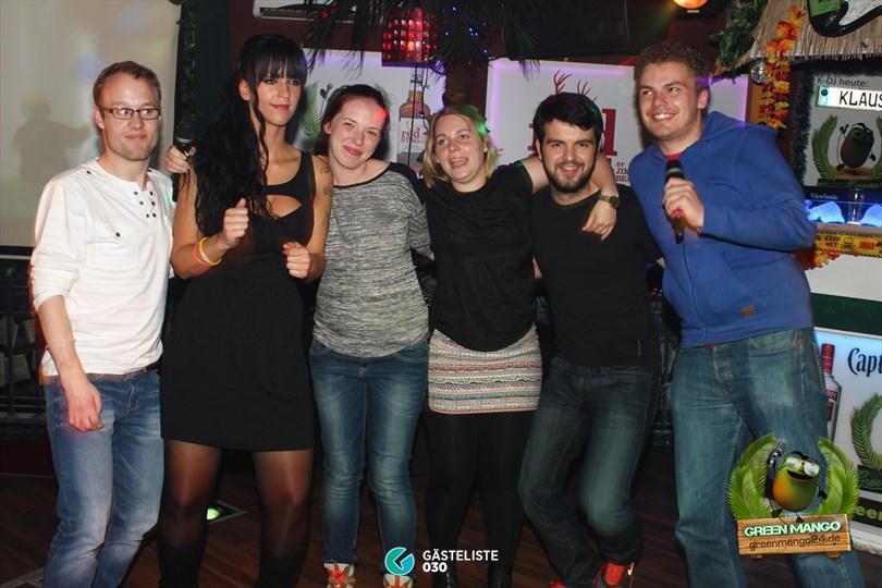 https://www.gaesteliste030.de/Partyfoto #56 Green Mango Berlin vom 10.10.2014