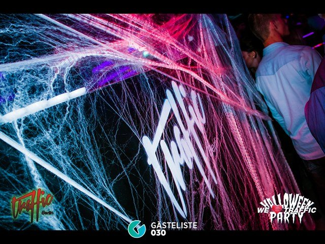 Partypics Traffic 30.10.2014 We Love Traffic Halloween Party