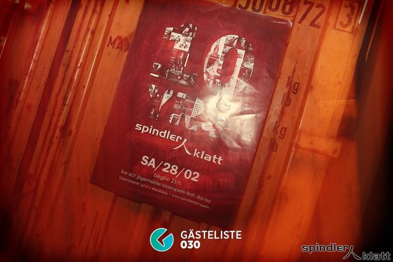 https://www.gaesteliste030.de/Partyfoto #2 Spindler & Klatt Berlin vom 21.02.2015