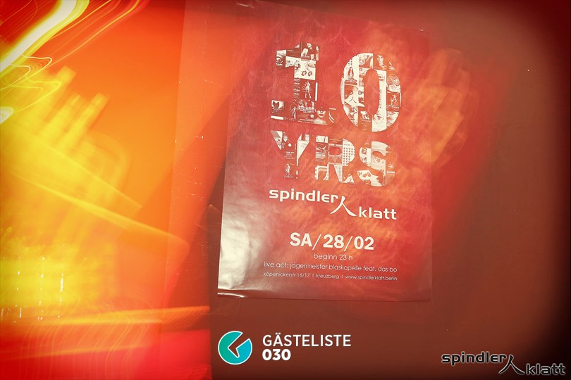 https://www.gaesteliste030.de/Partyfoto #7 Spindler & Klatt Berlin vom 31.01.2015