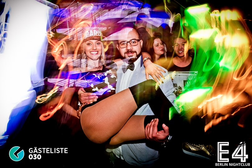 Partyfoto #118 E4 Club Berlin vom 31.01.2015
