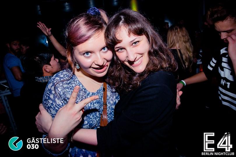 Partyfoto #122 E4 Club Berlin vom 31.01.2015