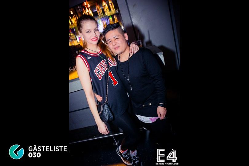 Partyfoto #109 E4 Club Berlin vom 31.01.2015