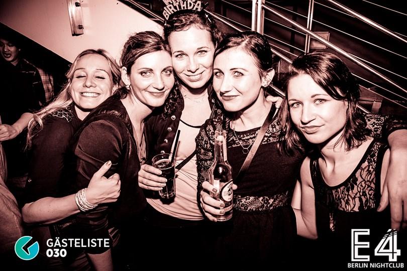 Partyfoto #67 E4 Club Berlin vom 31.01.2015