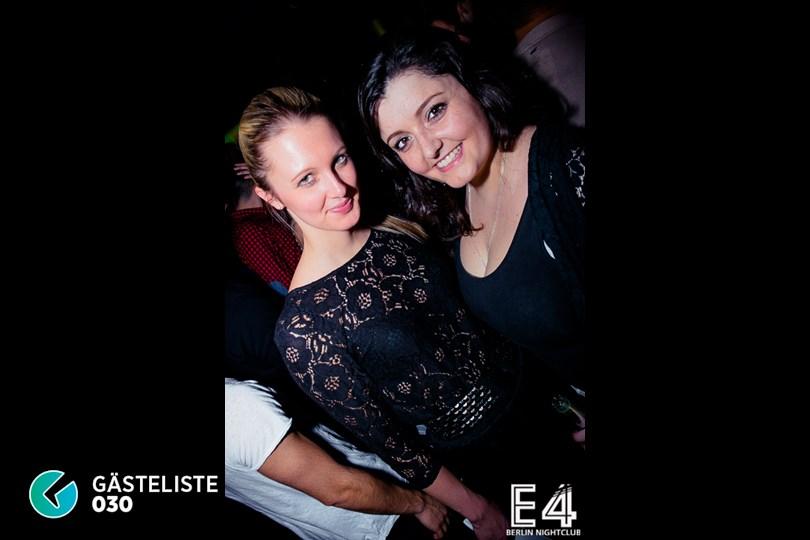 Partyfoto #34 E4 Club Berlin vom 31.01.2015