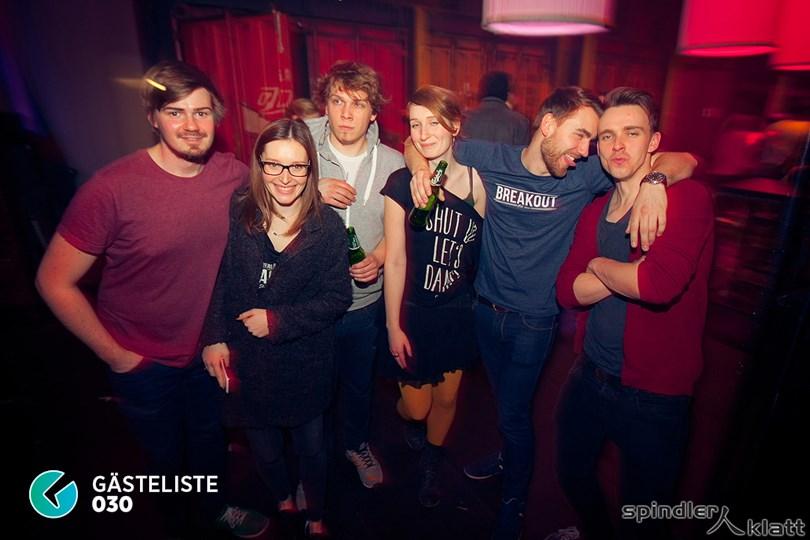 https://www.gaesteliste030.de/Partyfoto #114 Spindler & Klatt Berlin vom 07.03.2015