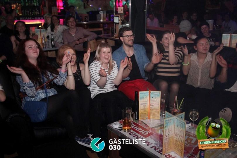 https://www.gaesteliste030.de/Partyfoto #36 Green Mango Berlin vom 18.04.2015