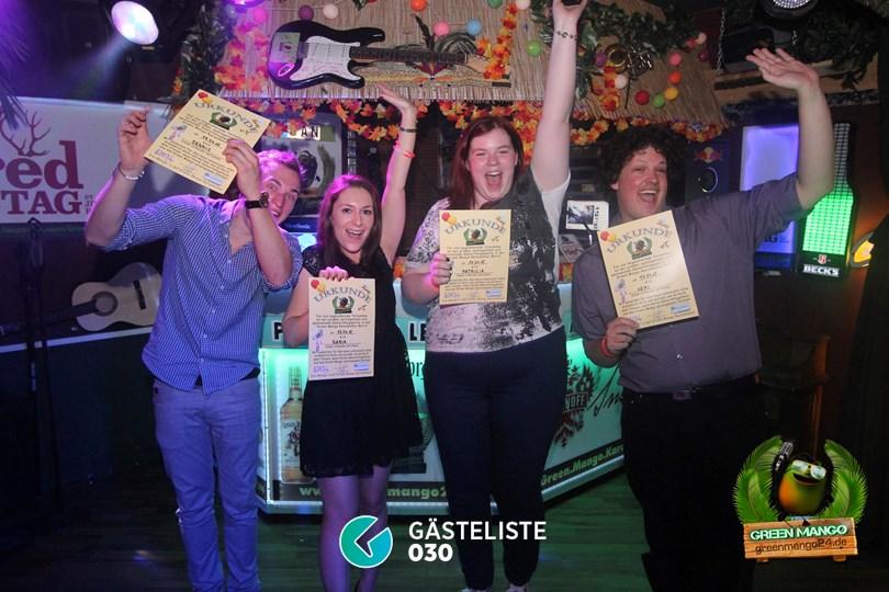 https://www.gaesteliste030.de/Partyfoto #31 Green Mango Berlin vom 18.04.2015
