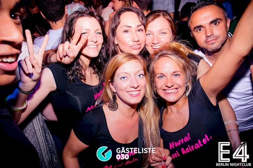 Partyfoto #33 E4 Club Berlin vom 25.07.2015