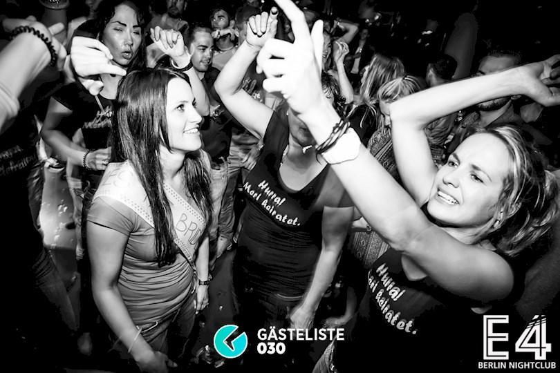 Partyfoto #106 E4 Club Berlin vom 25.07.2015