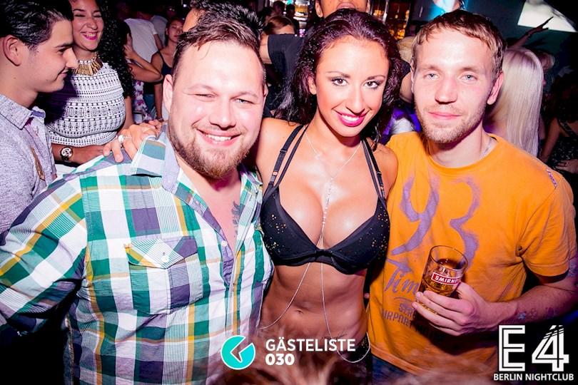 Partyfoto #158 E4 Club Berlin vom 25.07.2015