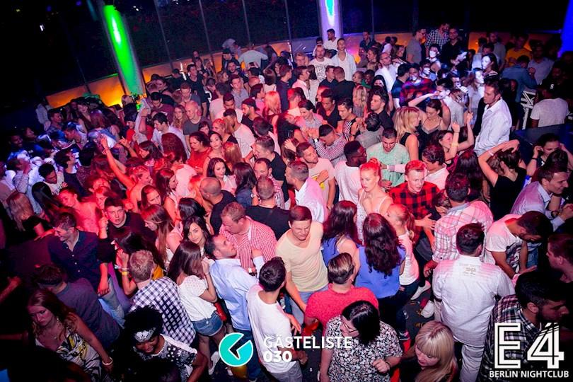 Partyfoto #110 E4 Club Berlin vom 25.07.2015