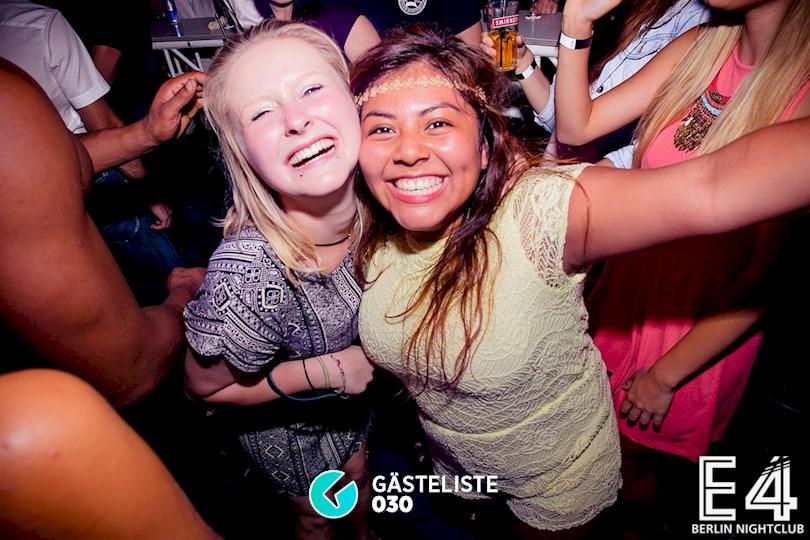 Partyfoto #58 E4 Club Berlin vom 25.07.2015