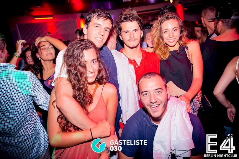 Partyfoto #132 E4 Club Berlin vom 25.07.2015