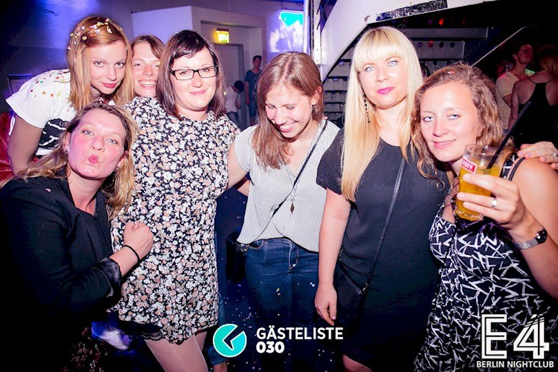 Partyfoto #16 E4 Club Berlin vom 25.07.2015