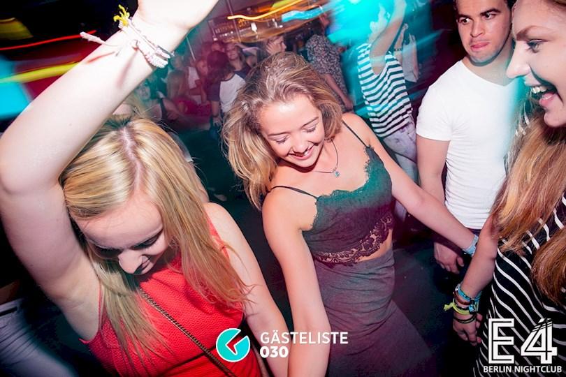 Partyfoto #30 E4 Club Berlin vom 25.07.2015