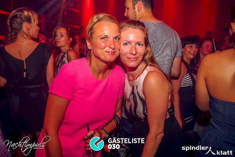 https://www.gaesteliste030.de/Partyfoto #51 Spindler & Klatt Berlin vom 15.08.2015