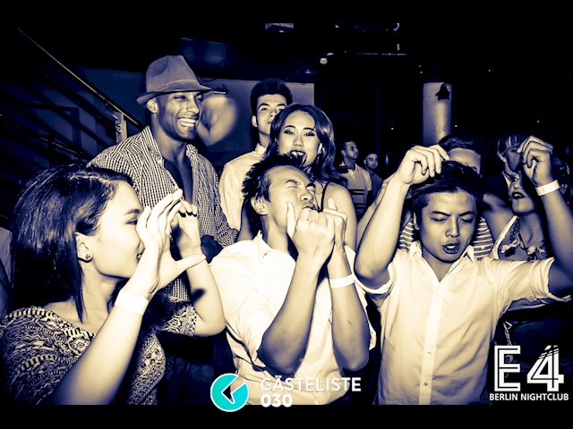 Partypics E4 Club 26.09.2015 One Night in Berlin - The Big Birthday Blowout