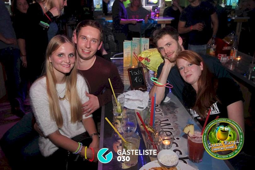 https://www.gaesteliste030.de/Partyfoto #62 Green Mango Berlin vom 16.10.2015