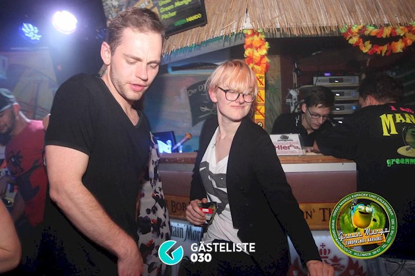 https://www.gaesteliste030.de/Partyfoto #74 Green Mango Berlin vom 16.10.2015