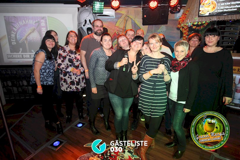 https://www.gaesteliste030.de/Partyfoto #1 Green Mango Berlin vom 16.10.2015