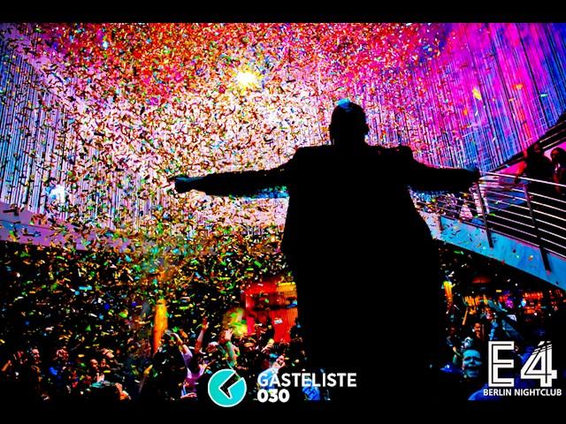 Partypics E4 Club 02.01.2016 One Night In Berlin // The Party Rain Kick Off 2016
