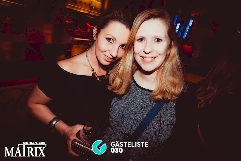 https://www.gaesteliste030.de/Partyfoto #39 Matrix Berlin vom 13.01.2016
