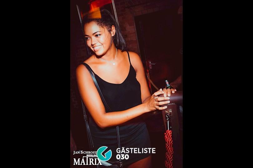 Partyfoto #12 Matrix Berlin vom 25.08.2016