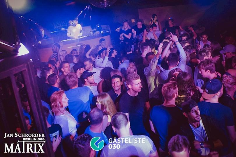 Partyfoto #55 Matrix Berlin vom 25.08.2016