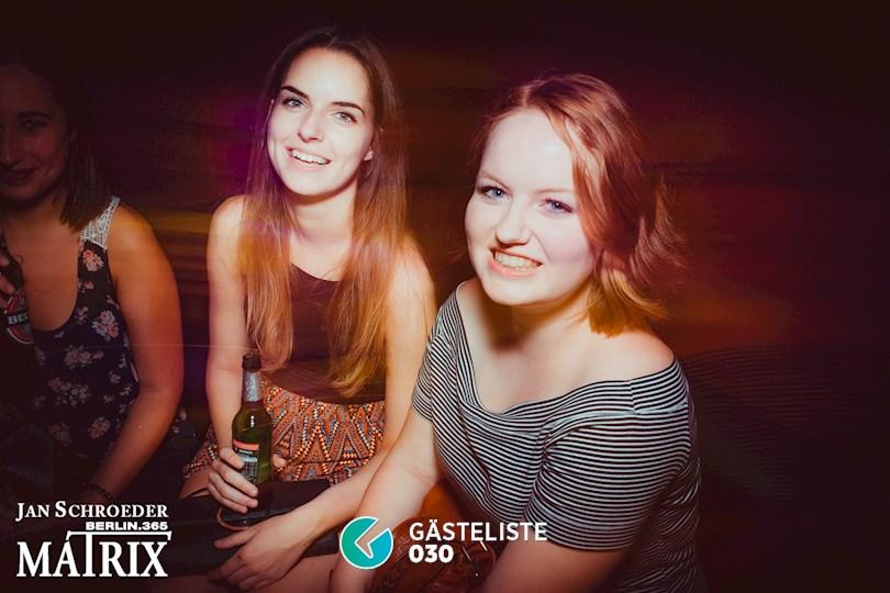 Partyfoto #137 Matrix Berlin vom 25.08.2016