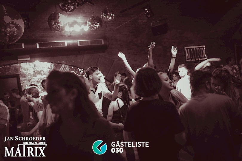 Partyfoto #151 Matrix Berlin vom 25.08.2016