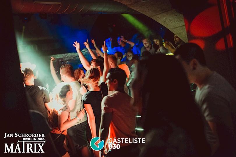 Partyfoto #51 Matrix Berlin vom 25.08.2016