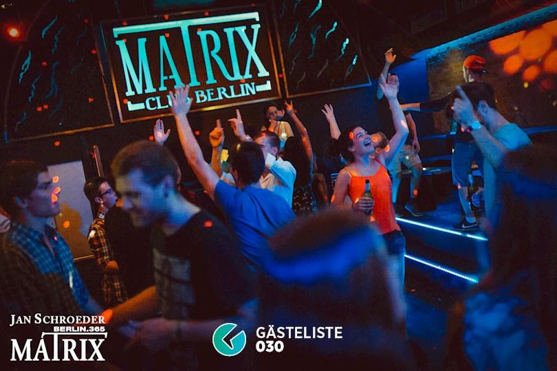 Partyfoto #13 Matrix Berlin vom 25.08.2016