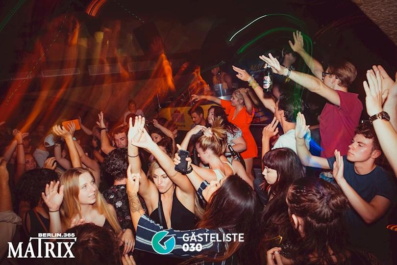Partyfoto #1 Matrix Berlin vom 28.08.2016
