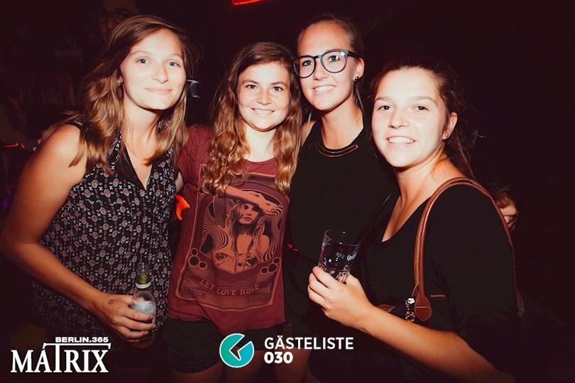 Partyfoto #65 Matrix Berlin vom 28.08.2016