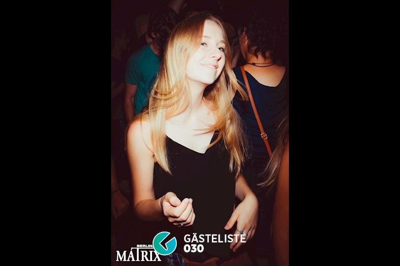 Partyfoto #49 Matrix Berlin vom 28.08.2016