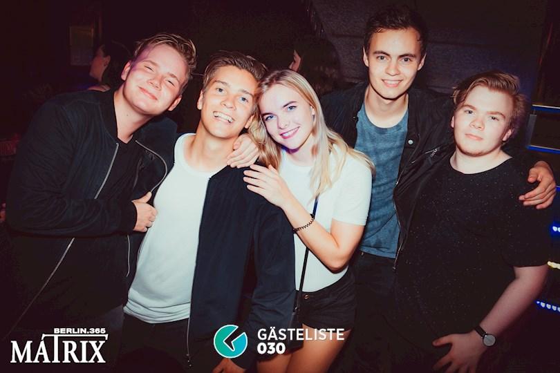 Partyfoto #45 Matrix Berlin vom 28.08.2016