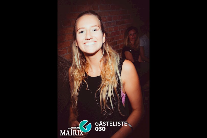 Partyfoto #75 Matrix Berlin vom 28.08.2016