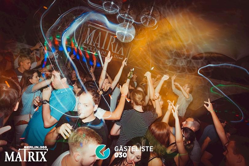 Partyfoto #1 Matrix Berlin vom 26.08.2016