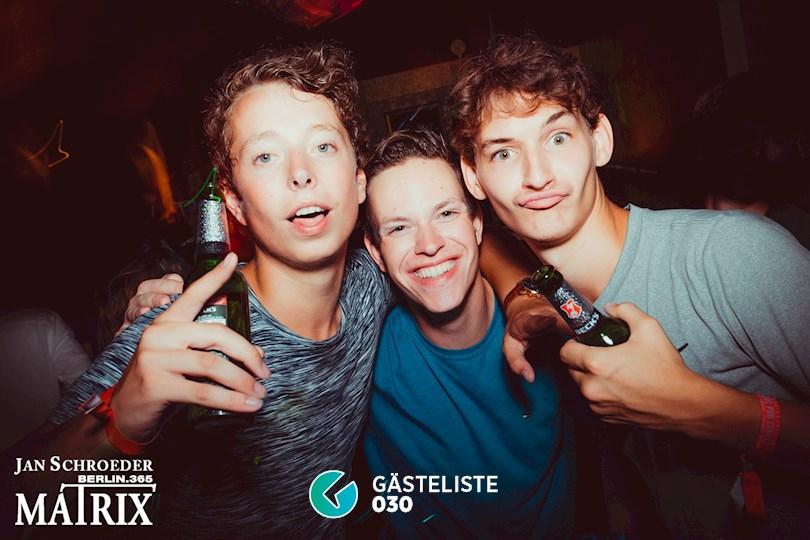 Partyfoto #143 Matrix Berlin vom 22.08.2016