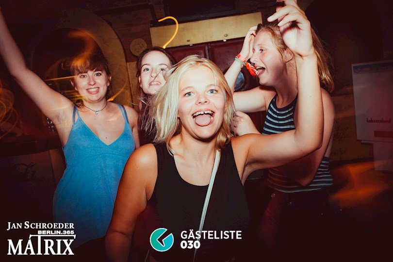 Partyfoto #82 Matrix Berlin vom 22.08.2016