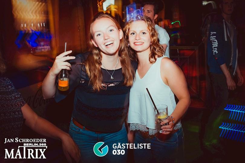 Partyfoto #156 Matrix Berlin vom 22.08.2016