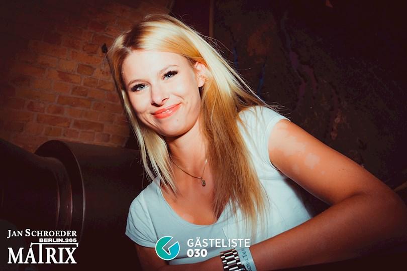 Partyfoto #67 Matrix Berlin vom 22.08.2016