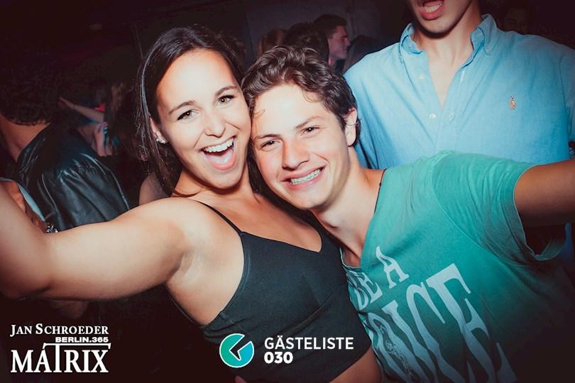 Partyfoto #32 Matrix Berlin vom 22.08.2016