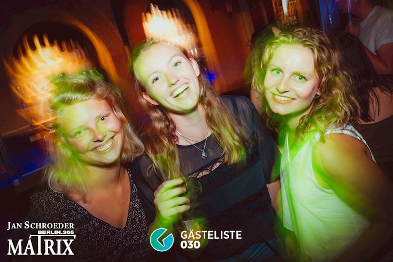 Partyfoto #53 Matrix Berlin vom 22.08.2016