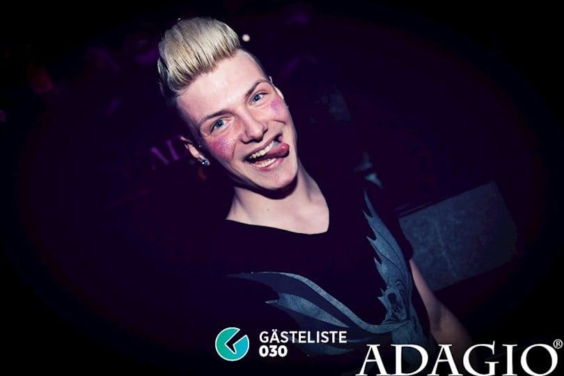 Beliebtes Partyfoto #9 aus dem Adagio Club Berlin