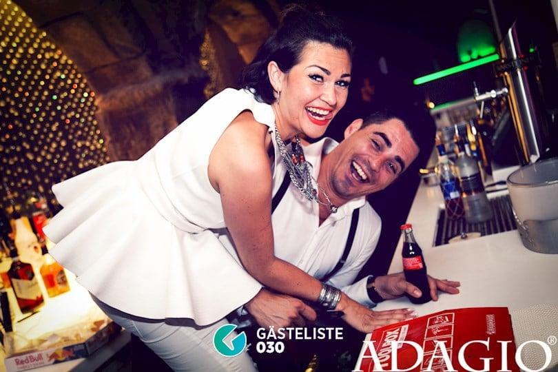 Beliebtes Partyfoto #10 aus dem Adagio Club Berlin
