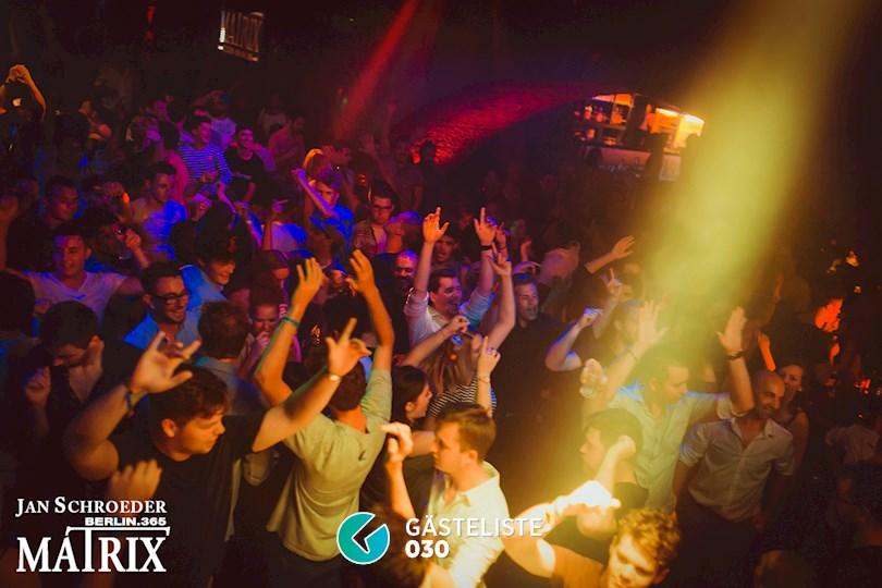 Partyfoto #124 Matrix Berlin vom 27.08.2016